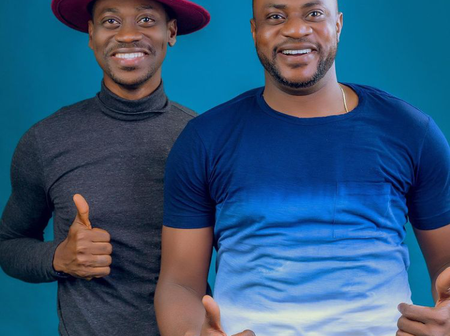 See Lovely Pictures as Nollywood Actors, Odunlade Adekola and Lateef Adedimeji Take Studio Pictures