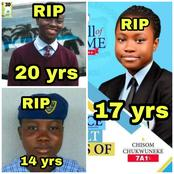 Chisom Isn't The First: See 7 Other Young And Brilliant Nigerian Students That Have Died (PHOTOS).