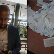 Kenyan Man Whose Certificates Were Allegedly Torn By Ex-girlfriend Speaks