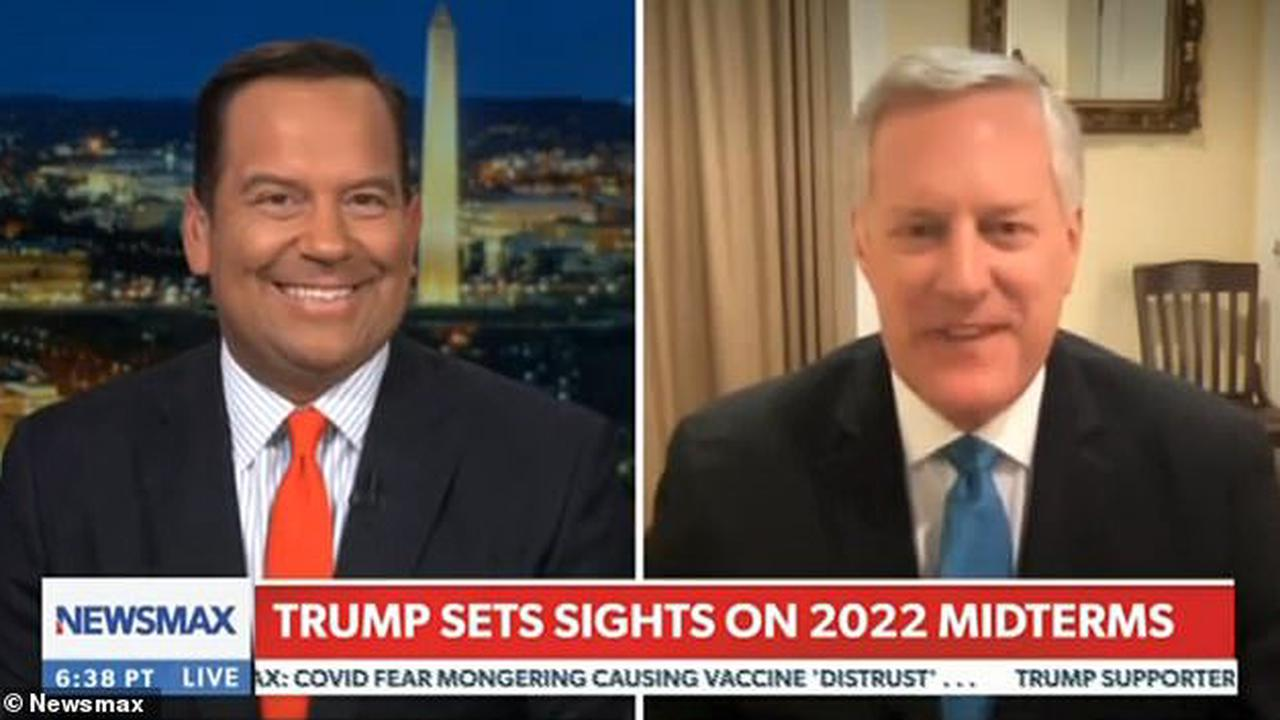 Trump is meeting with 'Cabinet members' at his New Jersey golf club as he mulls 2024 run, ex-White House Chief of Staff Mark Meadows claims