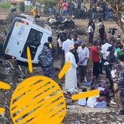 Côte d'Ivoire : accident d'un bus d'écoliers sous le pont Soro