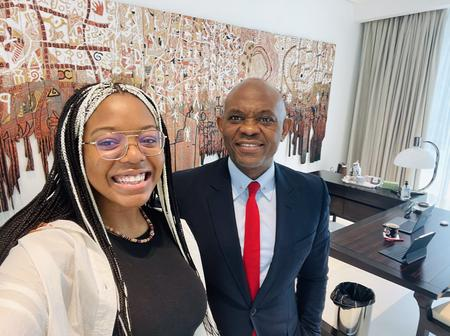Checkout Photos of Tony Elumelu and His First Daughter Spending Time Together