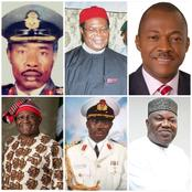 See Photos Of Enugu State Governors From 1990 Till Date, See Their Names And The Years They Ruled