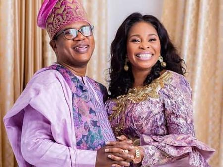Popular Gospel Singer, Tope Alabi, Celebrates Husband's Birthday