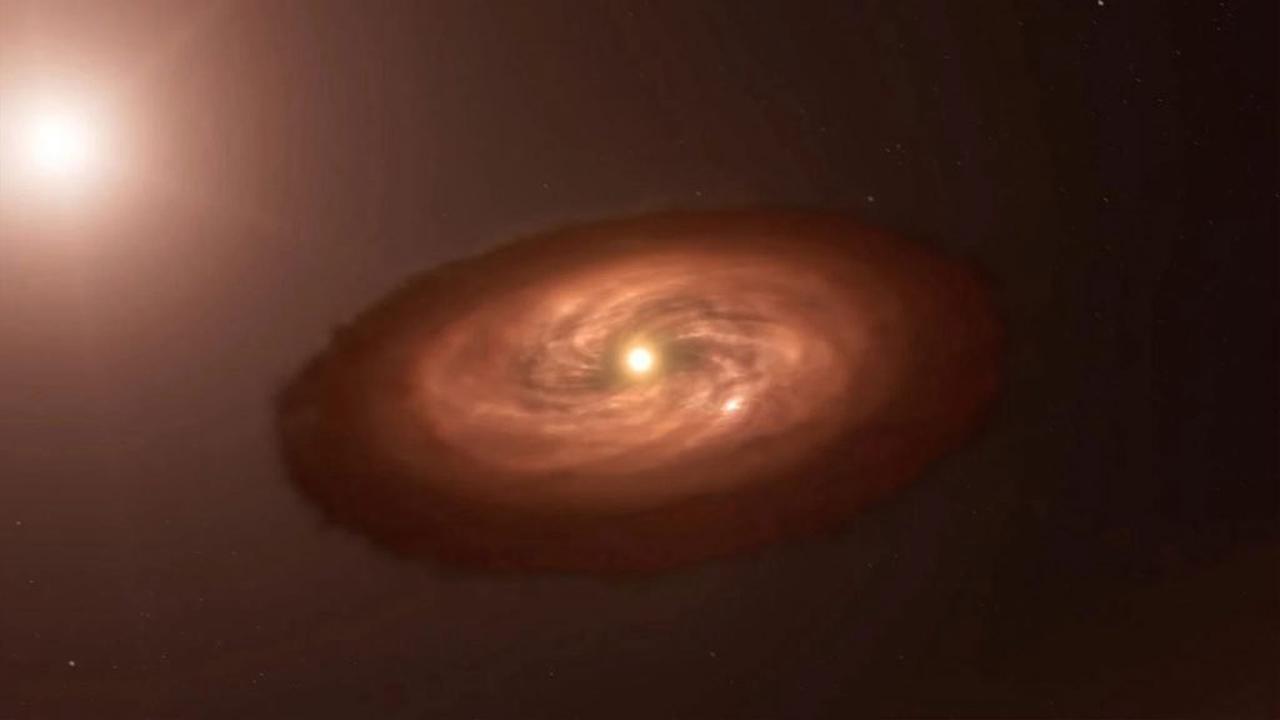 Des chercheurs détectent un disque permettant la formation de lunes autour d'une exoplanète