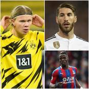 TRANSFER NEWS: DONE DEALS, Haaland To Chelsea, Man United To Sign Sergio Ramos, Zaha To Join Arsenal