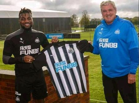Allan Saint Maximin Extend His Contract To 2026 In Newcastle