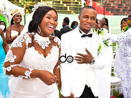 Throwback Wedding Photos Of UTV Sport Presenter Romeo Oduro