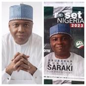After Bukala Saraki's Campaign Posters Were Spotted In Abuja, See What Nigerians Are Saying