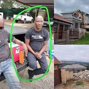 Meet The Alleged Man Who Hired Bulldozer To Demolish Cheating Girlfriend's House – (Photos)