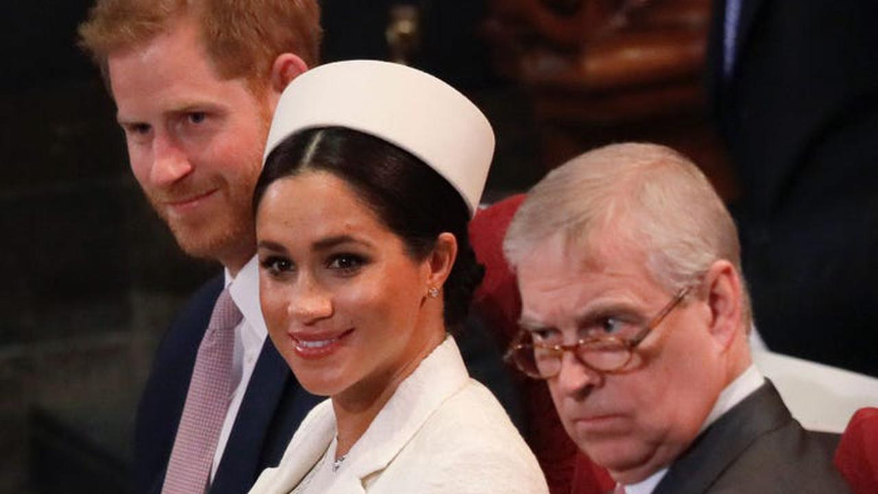 Buckingham Palace continues to protect Prince Andrew but it's a different story for Meghan Markle