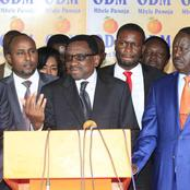 Panic In ODM as they Suspect Foul Play by Uhuru's Close Allies