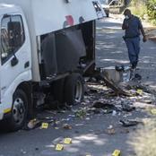Cops shot dead, guard arrested in cash in transit robbery