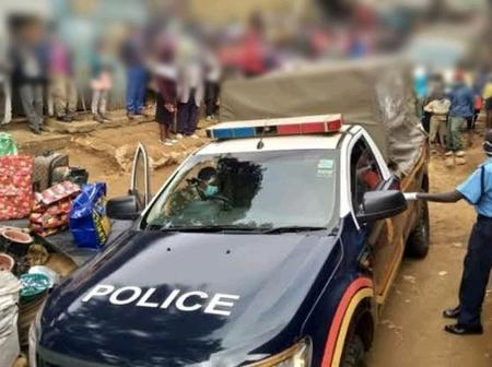 Drama As a Husband Storms His Wife With Another Man Before Chopping Off Her Legs in Kisii