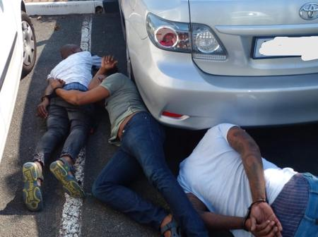 Kings of vehicle thefts nailed in during robbery