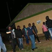 Photos Of DP Ruto's Allies In Matungu Constituency Allegedly Guarding Votes At Night.(Photos)