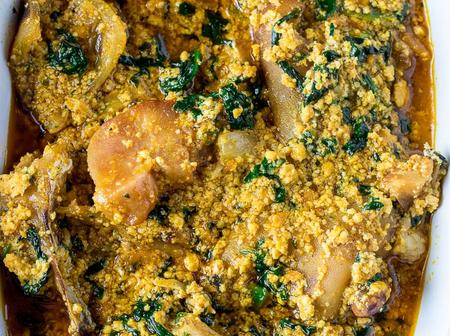 African Soup: See The New Recipe On How To Prepare A Delicious Egusi Soup