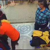 Woman Seen on CCTV Camera Stealing Phone is Finally Caught, Videos