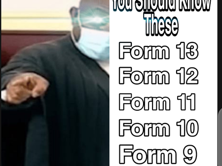 Election Petition: All You Need To Know About Form 9 to 13.