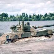 La Russie a encore frappé fort dans la technologie des armes, un nouveau char amphibie (photos)