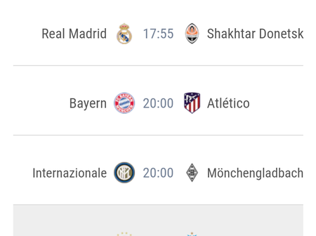 UEFA Champions League Previews; check out who your team is playing on MatchDay One