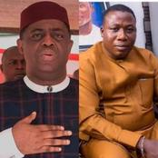 See FFK reactions as facebook deletes what he wrote about Sunday Igboho bravery after many reaches.