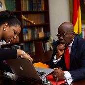 H. E Nana Addo's Personal Assistant, Is His Former Wife's, Biological Junior Sister. PICS