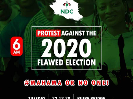 Updates on the Savannah Regional NDC Mass Protest