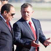 السيسي في الأردن من أجل