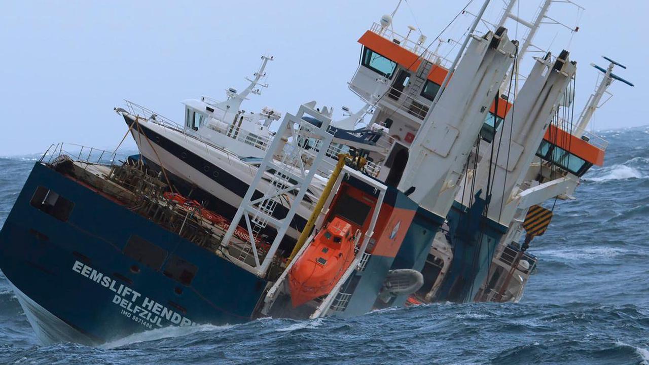 Salvage team gets control of stricken ship off Norway's coast