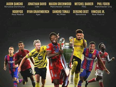 Golden Boy Award 2020: The Official 20-man Shortlist
