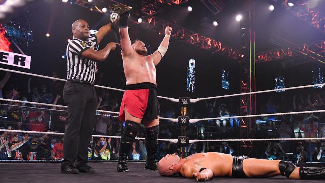 NXT TakeOver 36 : Samoa Joe devient champion de NXT