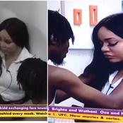 #BBNaija: Nengi Broke Down In Tears After Ozo Snubbed Her For Ka3na During The Saturday Party