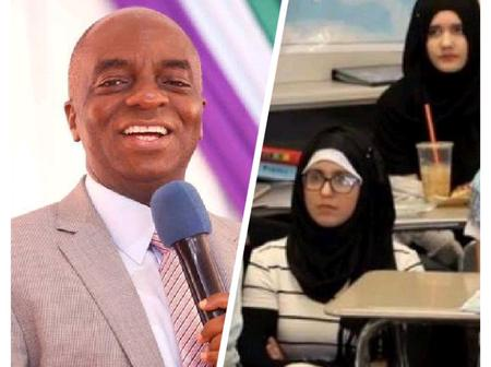 Mixed Reactions As Bishop Oyedepo Gives Lasting Solution To The Hijab Crisis In Kwara (Video)