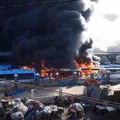 Drama Unfolds As Angry Nigerians Take Matters Into Their Hands and Burns TVC, BRT buses, Toll gate