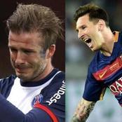 How Messi made David Beckham retire