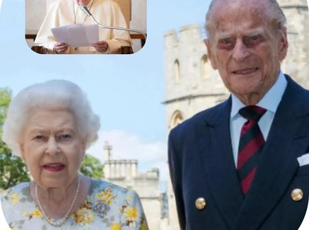 Pope Francis sends a condolence Message to Queen Elizabeth II Over the Death of Prince Philip