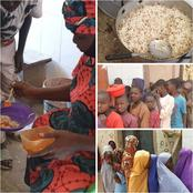 Kannywood Star Saratu Daso Provides Free Food For Almajiri beggars And Poor People