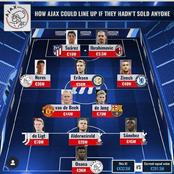 'Hakim Ziyech in, Luis Suarez In' - How Ajax Could Lineup If They Had Not Sold Any Player