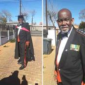 Meet the 69-year-old man that just obtained his first degree.