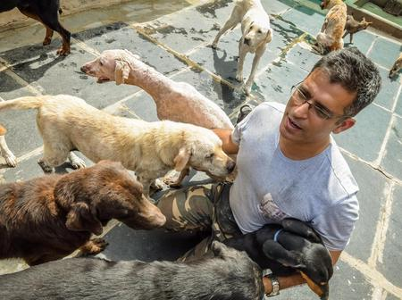 Meet the man who looks after 735 dogs because of his love for dogs