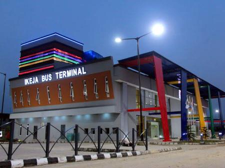 See pictures of ikeja bus terminal in Lagos