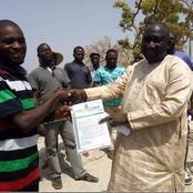 Hon. Aliyu Safiyanu Yakubu Receives Appointment Letter To Serve As A BOT Member Of Wamba Youths