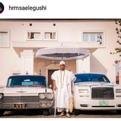 See The Stylish Oba Of Elegushi In Lagos Whose Wife Is A Northerner From Kano