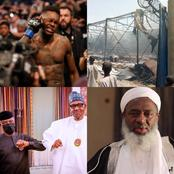 Today's Headlines: CAN decries Buhari's silence over Sheikh Gumi's outbursts, Adesanya set to make UFC history