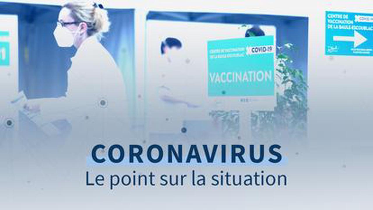 Covid-19 : isolement rallongé en France, un million de Français vaccinés avec deux doses