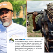 Does Nigeria Have A President?, Reno Omokri Blows Hot After Recent Attack In Niger State