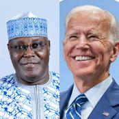 See The 4 Requests Atiku Made From Joe Biden As He Congratulates Him On His Inauguration Today.