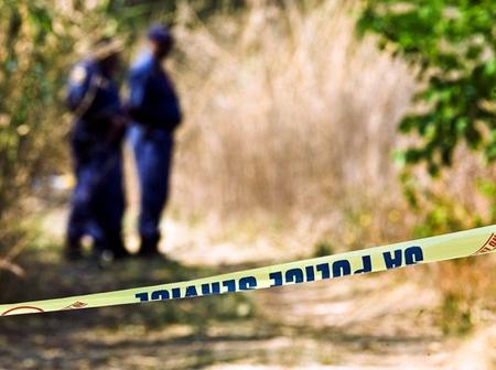 A man with blue jeans and dreadlocks is found hanging from a tree. It seems he committed suicide.