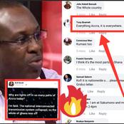 """Why Are Lights Off In So Many Parts Of Accra""- Kofi Bentil Sparks Controversy (See Reactions)"